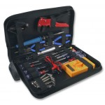 DURATOOL 25 PIECE ELECTRONIC TOOL KIT AND ZIPPED TOOL BAG