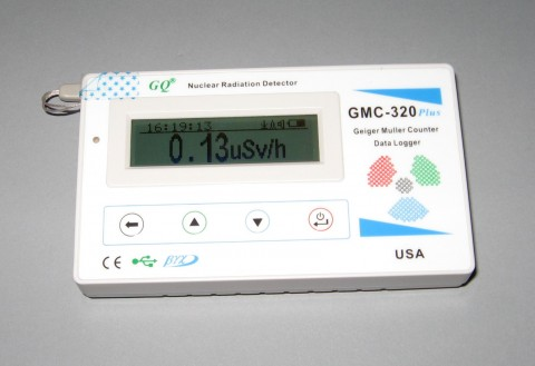 GMC-320 PLUS v4.0 GMC-320+ GEIGER COUNTER | NUCLEAR RADIATION DETECTOR | BETA | GAMMA | X RAY