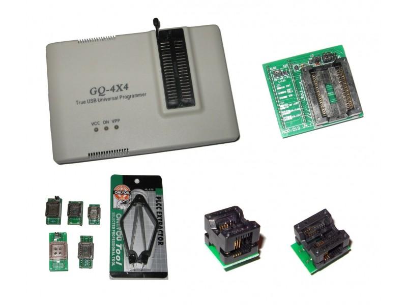 GQ-4x4 & ADP-019 PSOP44 Kit Soic8 Eeprom & PLCC Flash Chip