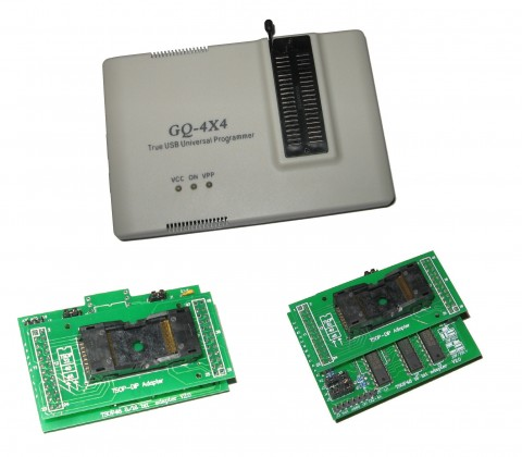 GQ-4x4 & ADP-003 or ADP-042 TSOP48 Adapter Kit, Eeprom Chip Programmer, PRG-110