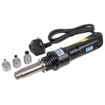 Heat Gun 220V UK Plug, 300W Hot Air Desolder, SMD Rework Tool, BGA, SOIC, TSOP