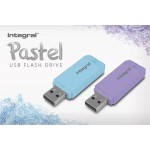 INTEGRAL 8GB USB 2.0 FLASH DRIVE PASTEL