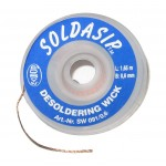 0.6MM SOLDASIP SOLDAMOP DESOLDERING BRAID | WICK | IPHONE & MOBILE PHONE REPAIR