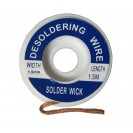 Desolder Braid, Wire, Wick 1.5mm Width, 1.5 Meter Long...