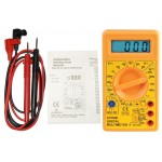 500V AC/DC Manual Ranging Digital Test Multimeter Including probes D03047, D03046