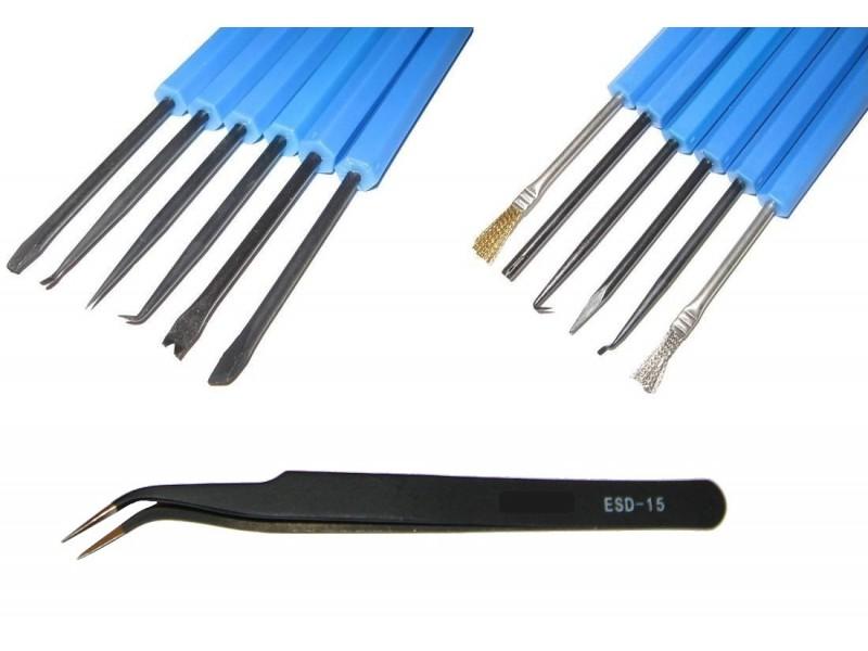 soldering aid kit free tweezers bga repair zd 151 duratool rh datahardware co uk
