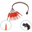 10x MICRO TEST HOOK PINCERS | LOGIC ANALYZER | TESTING EE...