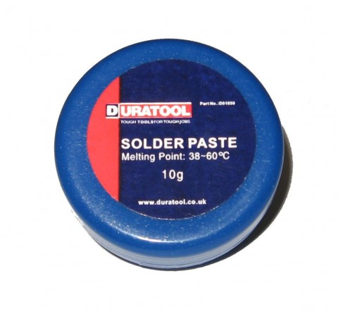 SOFT SOLDER PASTE 10g | FLUX | SOLDERING ACCESSORIES
