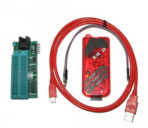 Pickit 2 Style USB In-Circuit Debugger Programmer PK2 Pic Chip Eeprom