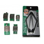 COMPLETE PLCC UNIVERSAL ADAPTER KIT SET | PLCC20/28/32/44 to DIP20/24/28/32/40 | ADP-050