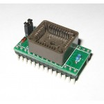 DIP28 to PLCC32 UNIVERSAL ADAPTER | SUPPORTS MOST PROGRAMMERS | ADP-006