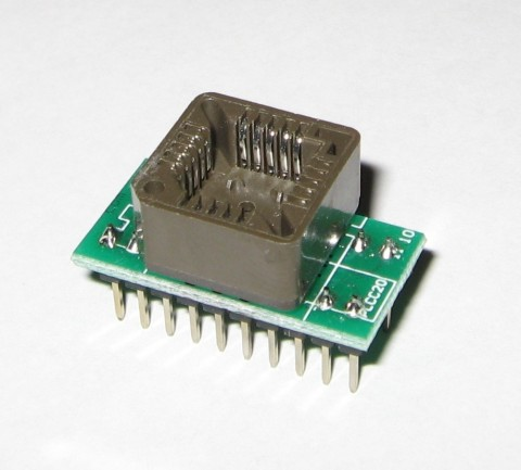 PLCC20 to DIP20 UNIVERSAL ADAPTER | SUPPORTS MOST PROGRAMMERS | ADP-049