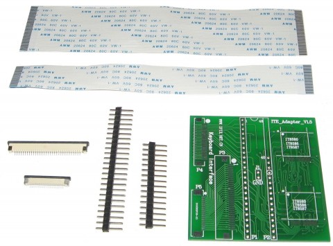 ITE KEYBOARD ADAPTER INTERFACE V1.5 IT85xx FOR USE WITH RT809H PROGRAMMER