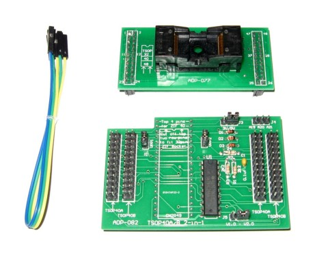 TSOP40 A/B 2in1 ZIF ADAPTER | ADP-082 ADP-077 | GQ-4x4 GQ-3X | WILLEM PROGRAMMER
