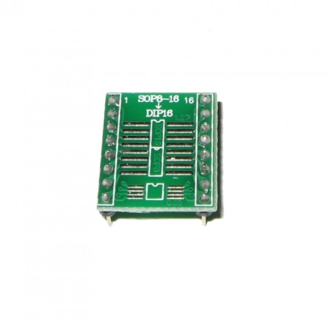 SOIC 16 TO DIP 16 SURFACE MOUNT ADAPTER | SOIC 8 | MSOP 8