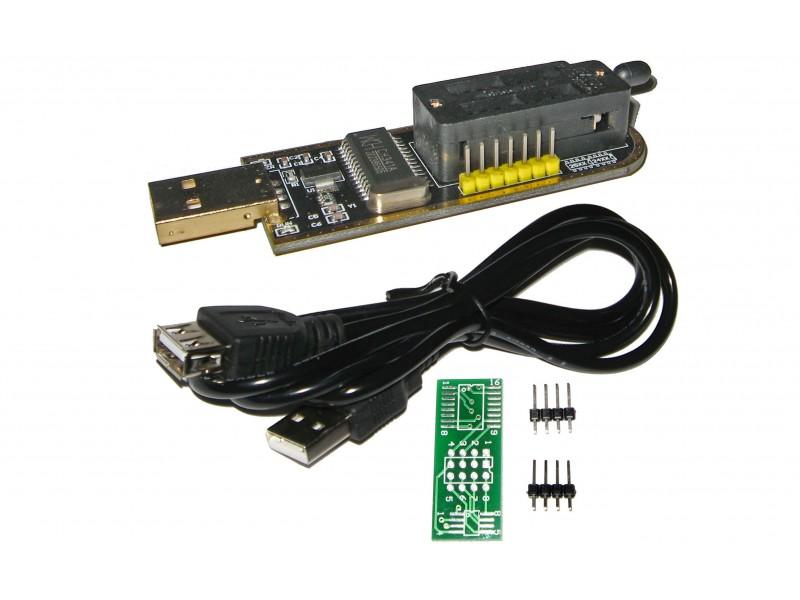 Cheap USB eeprom Programmer CH341A, 24C 25C 25L Bios Chip