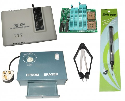 GQ-4x4 UV Eraser 16BIT Adapter Kit, Eprom Flash Chip Programmer GQ-4X ADP-054