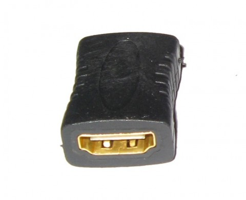 HDMI EXTENDER FEMALE TO FEMALE COUPLER ADAPTER CONNECTOR JOINER
