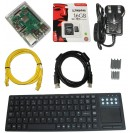 Raspberry Pi 3 B+ Full Kit, 16GB, Clear Case, 3.0A Power ...