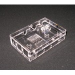 Raspberry Pi 2 & Raspberry Pi 3 B+ Clear Protective Case Enclosure Plus Heatsinks