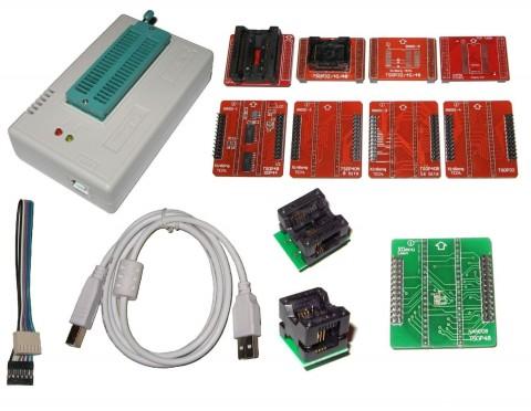 XGECU XGPRO TL866II+ Mini Pro USB NAND Programmer And Ada...