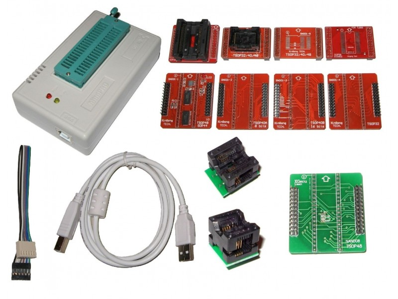 XGECU XGPRO TL866II+ Mini Pro USB NAND Programmer And