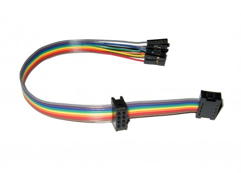 8 WAY MULTI CONNECTION RAINBOW RIBBON ISP LEAD CABLE | ID...