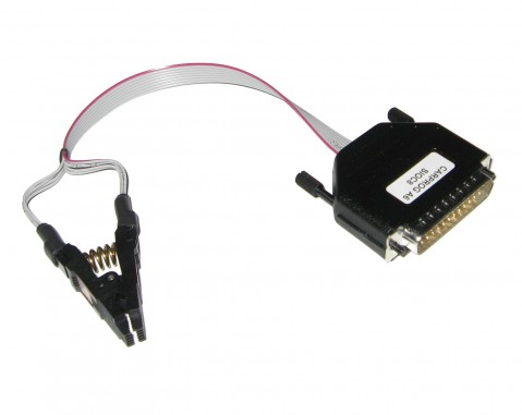 CARPROG A6 SOIC8 TEST CLIP | 3M SOIC 8WAY TEST CLIP & ISP...