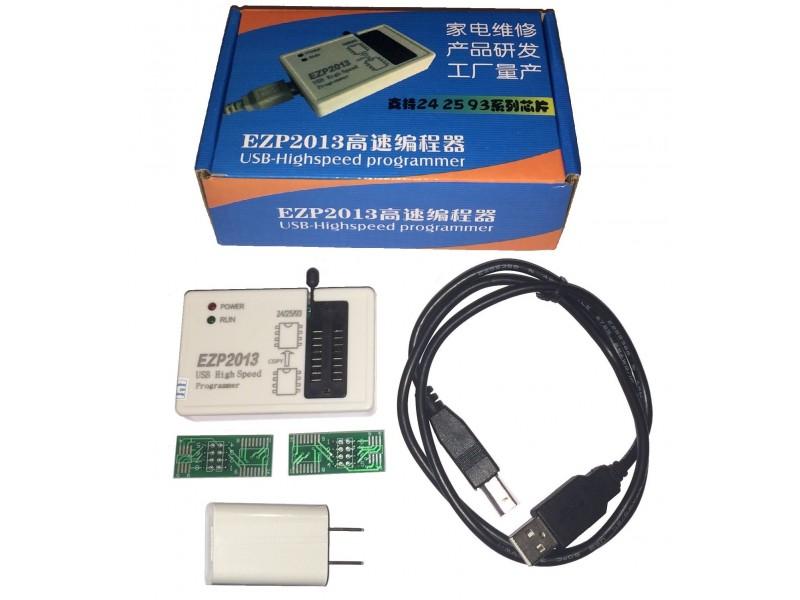 EZP2013 Eeprom USB SPI Programmer 24Cxx 25Cxx 93Cxx 25Lxx 32 & 64bit
