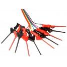 10x MICRO SMD IC TEST HOOK CLIP | JUMPER PROBE | ANALYSER...