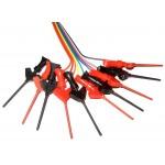 10x MICRO SMD IC TEST HOOK CLIP | JUMPER PROBE | ANALYSER | MINI GRABBER P5003